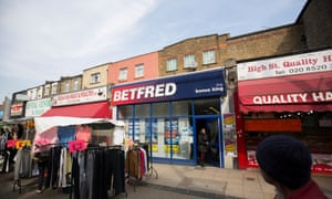 Betting shops in London