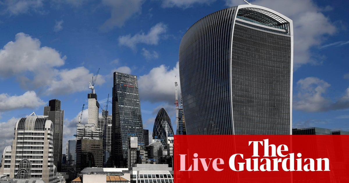 UK government borrowing dropped in May as economy reopened – business live