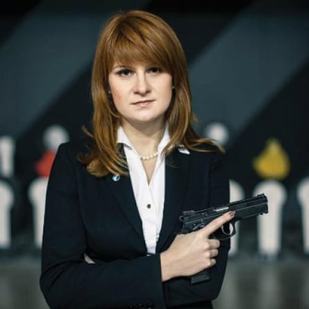 Maria Butina in Moscow.