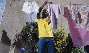 Black men spend an hour a week more on housework than white British men.