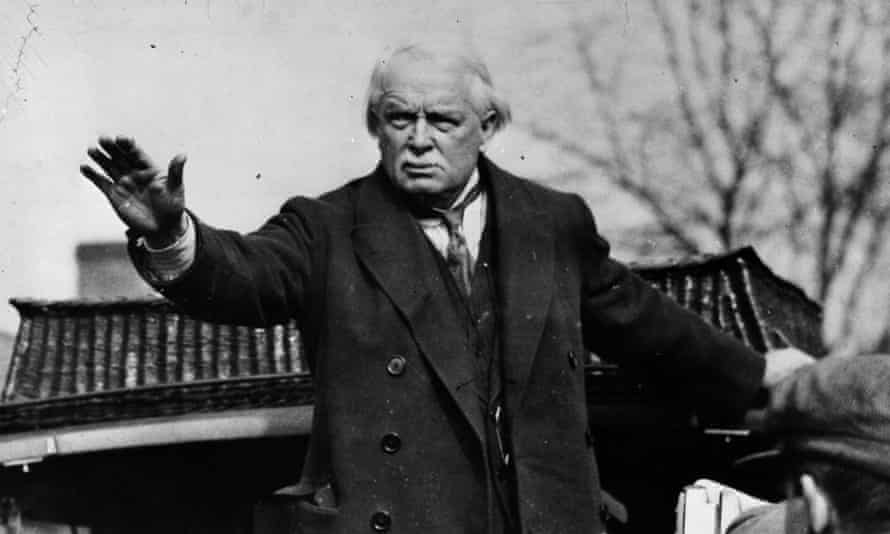 David Lloyd George, who introduced the National Insurance Act in 1911 to cover industrial sickness.