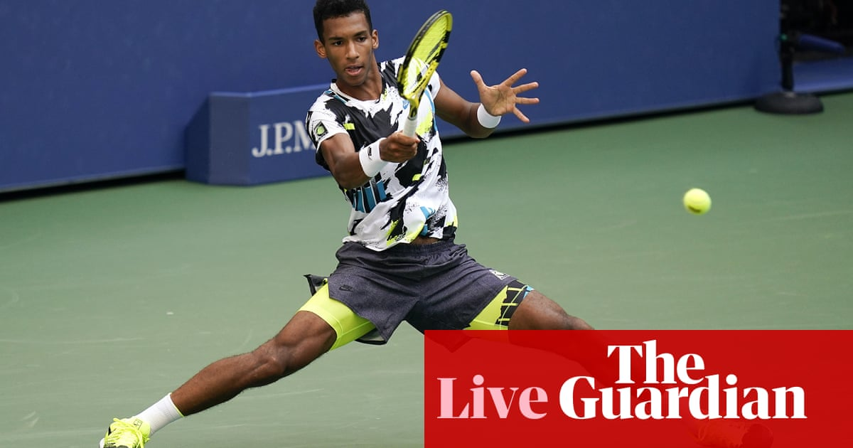 US Open: Auger-Aliassime v Thiem, Williams beats Sakkari – live!