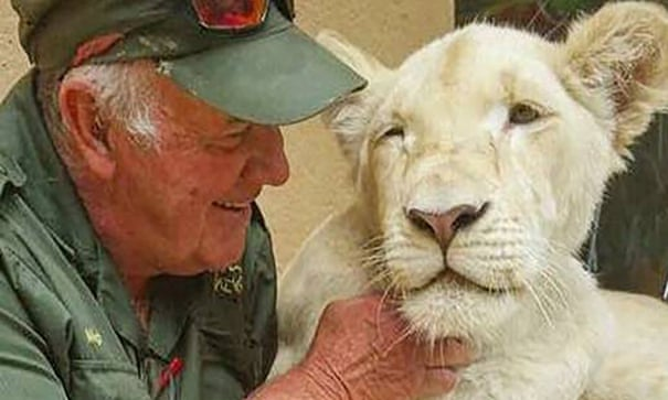 South African conservationist killed by lions he reared