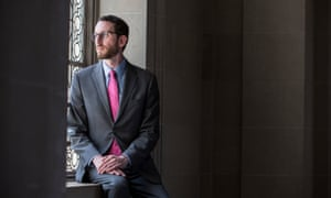 Scott Wiener, now a state senator, at San Francisco city hall in 2016.