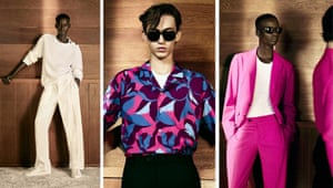 CANALICanali went further afield than its counterparts - although kept in step with the prevailing positive-nostalgia theme permeating a lot of collections – arriving in 1990s LA. Cerise suiting and abstract flower shirts were inspired by the indigo-pink sunsets that stretch across California, while relaxed suiting and earthy suede outwear took its cue from dessert travel. But, what's a summer collection without lightweight knits? Here, Canali took its lead from The Big Lebowski and one of the City of Angels' most famous anti-heroes, The Dude.