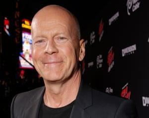 Bruce Willis portrait