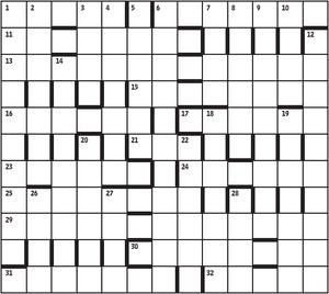Azed crossword 2,441