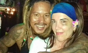 Rachel Prins in a Facebook photo from the Soul Train Reggae Bar