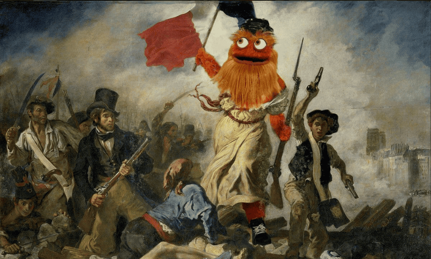 Gritty has arrived like a wrecking ball into the NHL