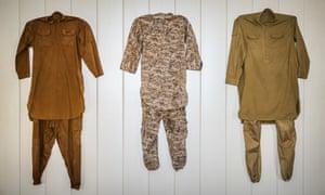 Isis fighters' battledress