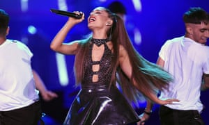 Billie Eilish, Lewis Capaldi and Ariana Grande (pictured) continue to drive massive music sales.