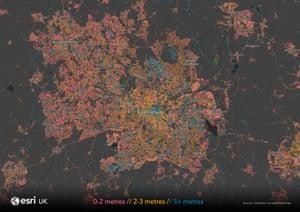 Esri UK Birmingham map .