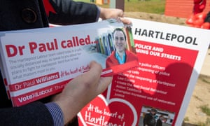 Dr Paul William, Labour candidate in the Hartlepool bylection