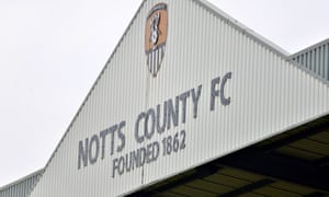 Notts County are bottom of League Two and have been put up for sale by their owner, Alan Hardy.