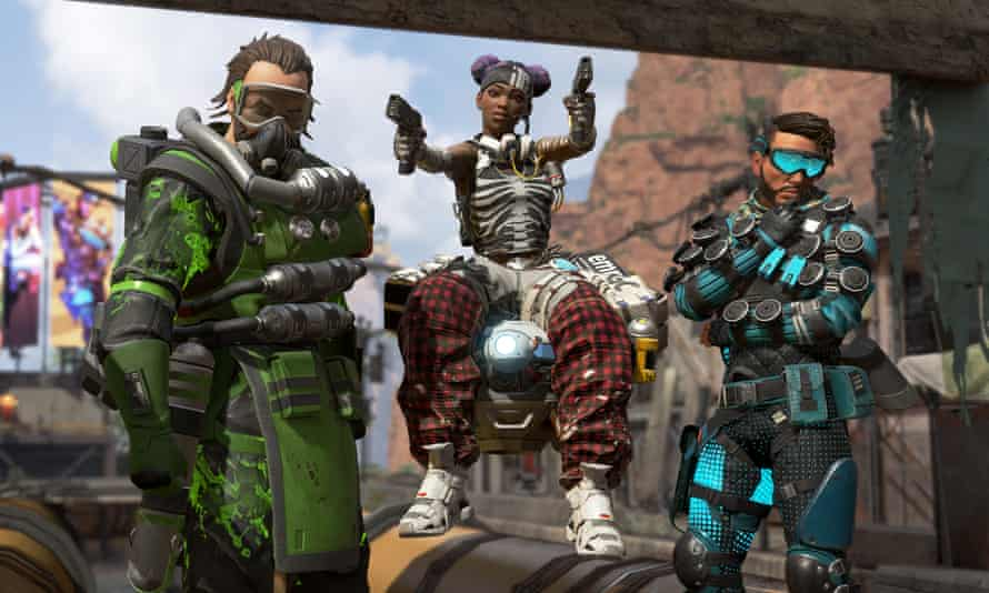 Apex Legends features a diverse range of characters who bring extravagant special skills to the battle zone.
