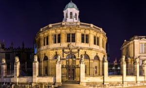 The Sheldonian Theatre is a building of Oxford University used for concerts and award ceremonies, designed by Christopher Wren