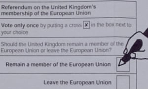 The guide to voting in the EU referendum that Bristol city council has withdrawn.