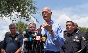 Florida Governor Rick Scott in Orlando.