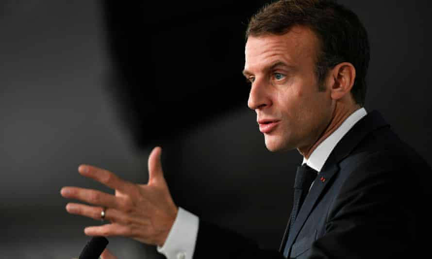 Emmanuel Macron's climate change demand is just one of a series by member states on the Brexit negotiations.