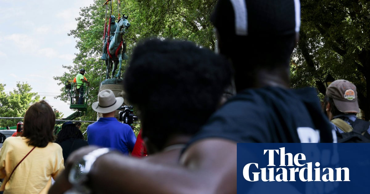 'Such a relief': Charlottesville onlookers cheer the removal of Confederate statue