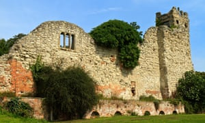 The ruins of Wallingford Castle.