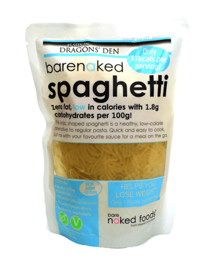 Barenaked spaghetti.