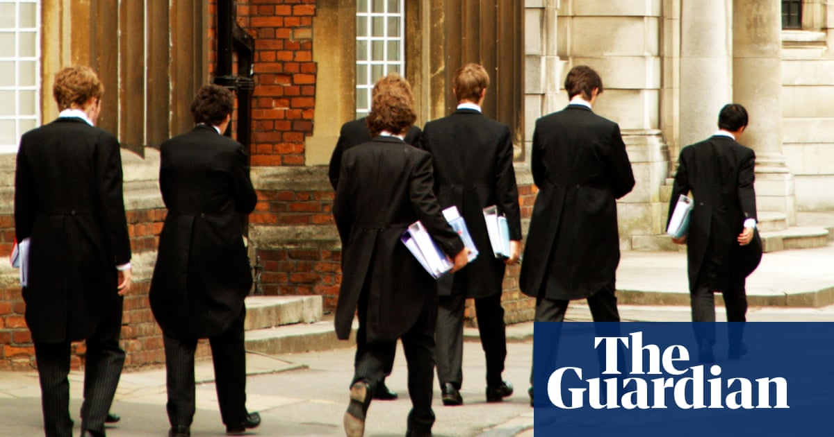 Television workers twice as likely to have attended private school