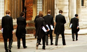 Eton College boys, pictured in 2007. A survey of 10,000 TV industry workers found 14% went to independent or fee-paying schools, double the national average of 7%.
