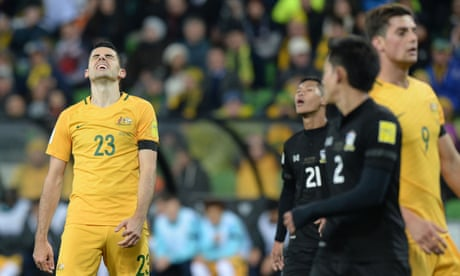 Socceroos lose game of inches as scrutiny falls on Ange Postecoglou | Jonathan Howcroft