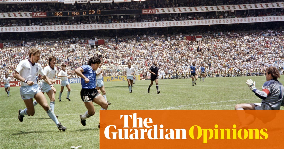 Brave, intelligent Diego Maradona was a man who moved through different air
