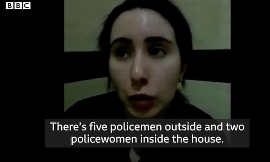 تظهر مقاطع فيديو سجن أميرة دبي لطيفة ضد إرادتها