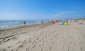 The beach at Ca'Savio