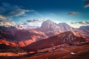 Lights and Shadows in the Dolomites, in the landscape infrared category