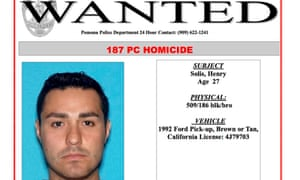 Los Angeles police officer wanted after deadly shooting in