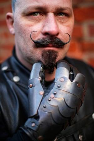 Wayne Ellis a steampunk from Chesterfield