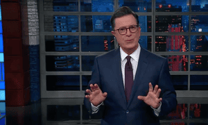 Stephen Colbert: 'Internal strife is tearing the republican party apart at the seams. It's like a new civil war, only this time neither side is trying to help black people.'