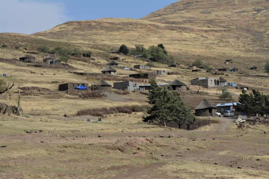 Pontseng in South Africa, close to the Lesotho border