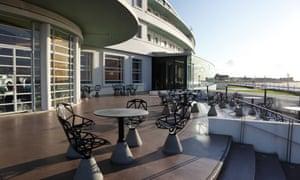 Rotunda Cafe at the Midland Hotel , Morecambe