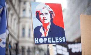 A placard at an anti-austerity march in London on Saturday.