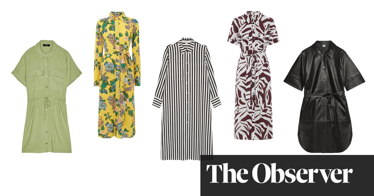 The edit... Five ways to wear shirt dresses