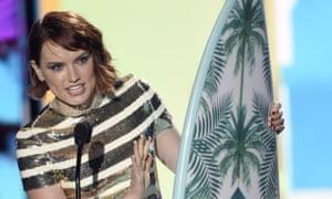 Daisy Ridley at the 2016 Teen Choice awards