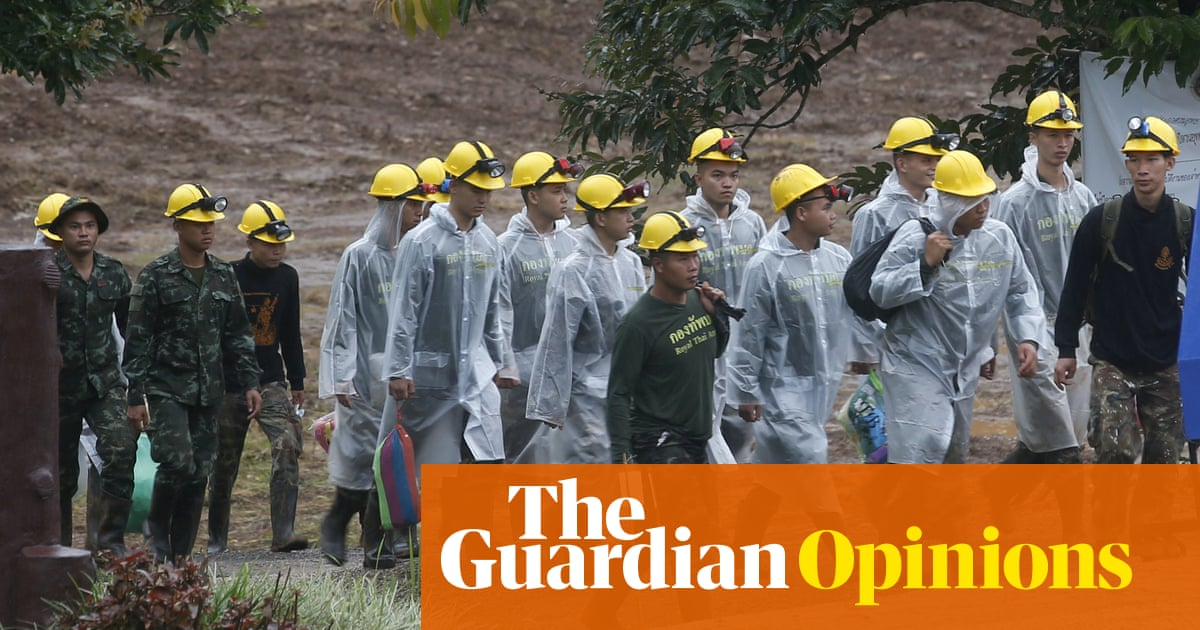 The rescue of the Thai cave boys is a triumph of bravery, expertise and love | Suzanne Moore