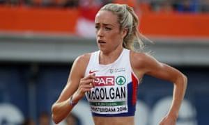 Eilish McColgan said she felt the dope testing procedures in Kenya were inadequate