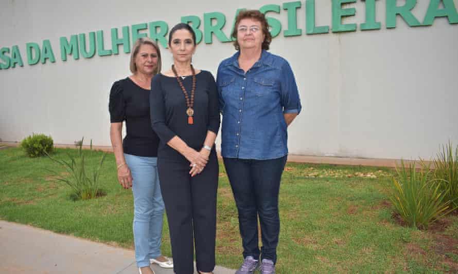 Carla Stephanini, Cleide Rodrigues da Costa and Elza Loschi