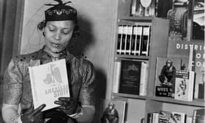 The Harlem Renaissance writer Zora Neale Hurston.