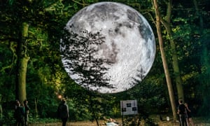 Luke Jerram's Museum of the Moon.