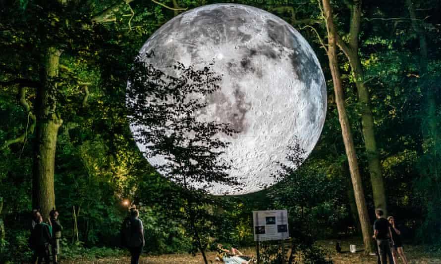Luke Jerram's Museum of the Moon.