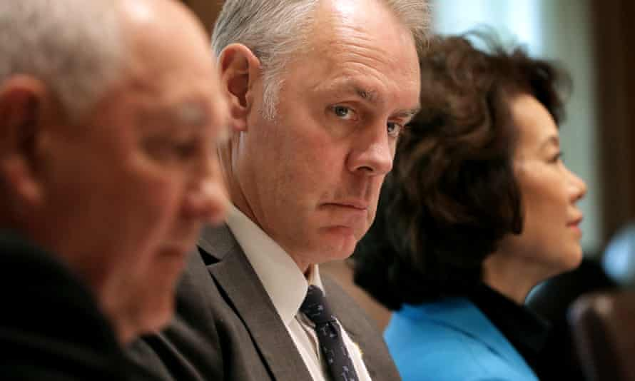 Ryan Zinke, US interior secretary, has been the subject of several probes by an ethics watchdog.