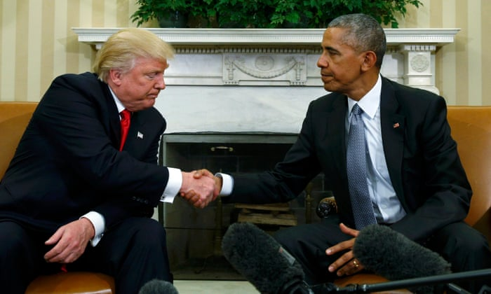 The anti-Obama: Trump's drive to destroy his predecessor's legacy ...