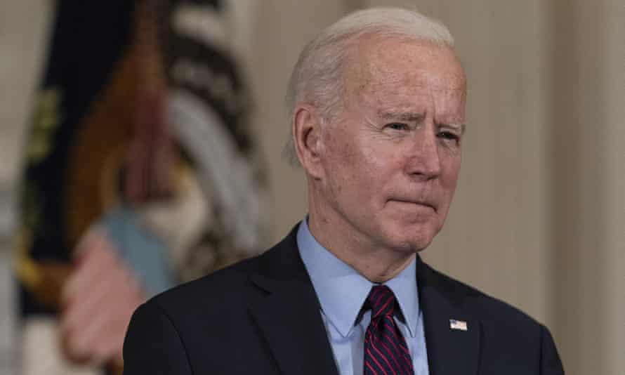 Joe Biden at the White House on 5 February 2021.